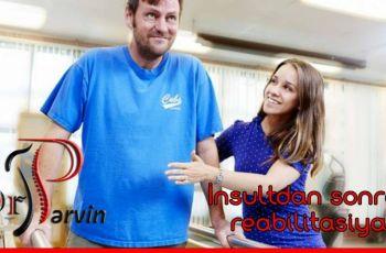 İnsultun müalicəsi və reabilitasiyası