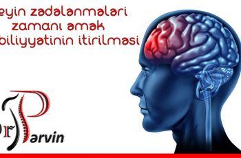 Beyin zədələnmələri zamanı əmək qabiliyyətinin itirilməsi